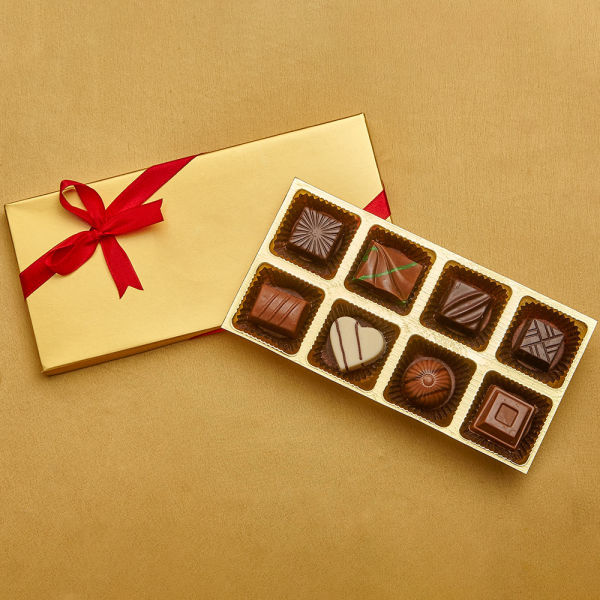 Buy Mini Gold Diwali box of 8 Classics