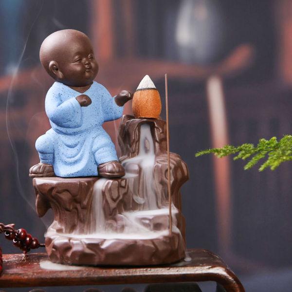 Buy Incense Flow Monk Statue