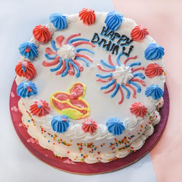 Buy Diwali Cream Cake