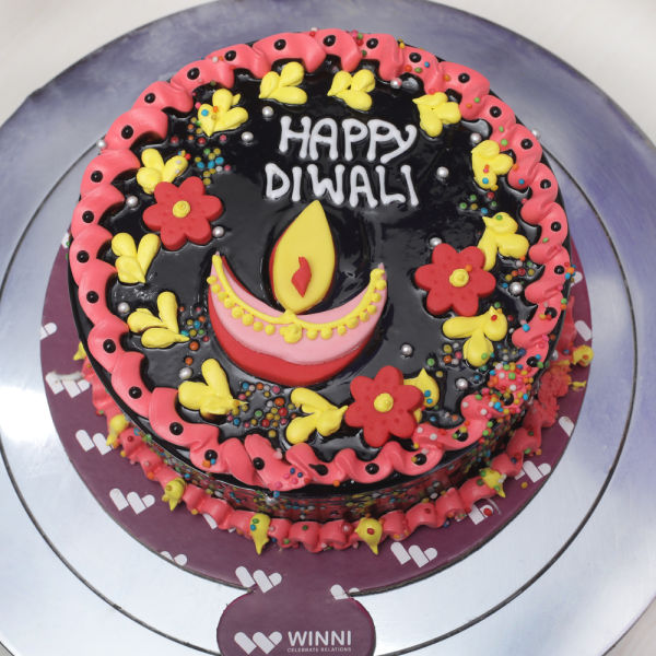 Buy Diwali Chocolate Cake