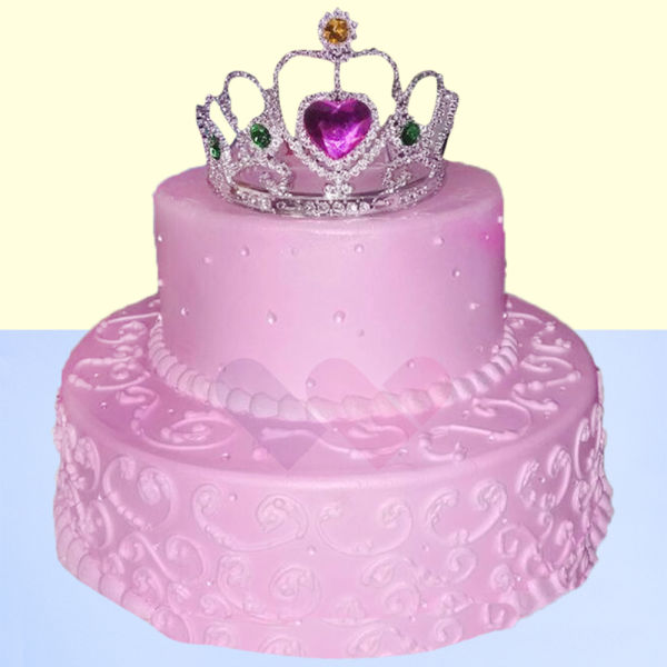 Buy Strawberry princess 2 tier cake