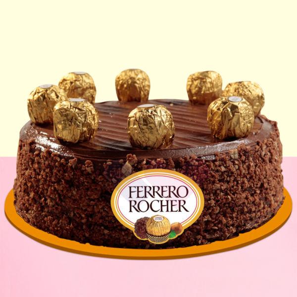 Buy Ferrero Rochers Chocolate Cake