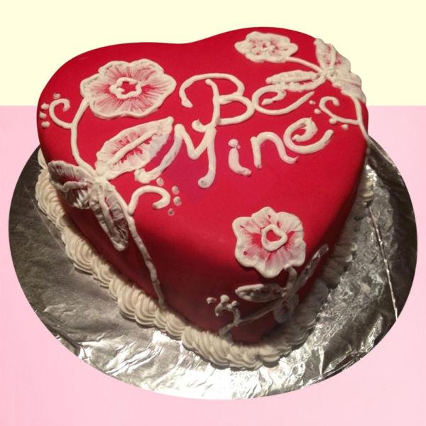 Buy Be mine valentine chocolate cake