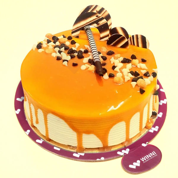 Buy Appetizing Butterscotch Cake