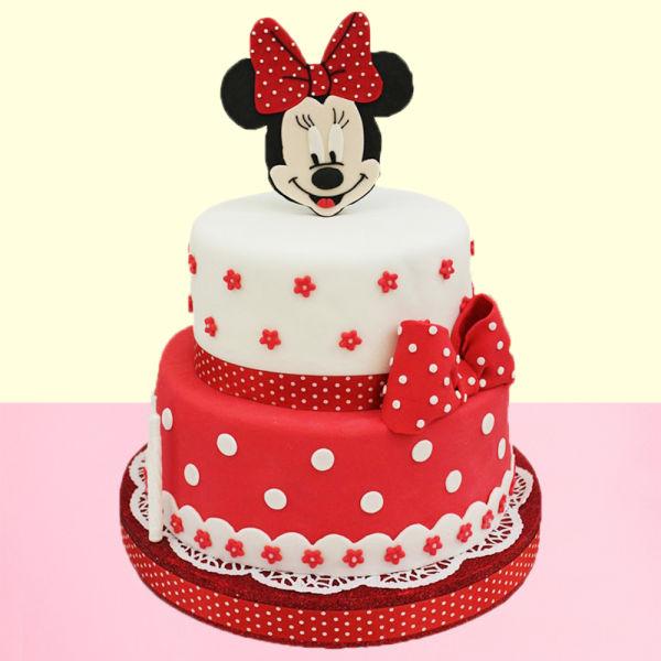 Buy Minnie Mouse Cartoon Cake