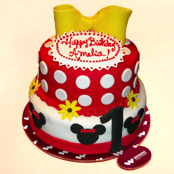 Buy Minnie Mouse Birthday Cake