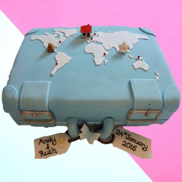 Buy Suitcase Cake