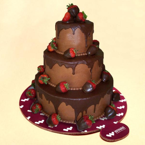 Buy Choco Strawberry Affair Cake