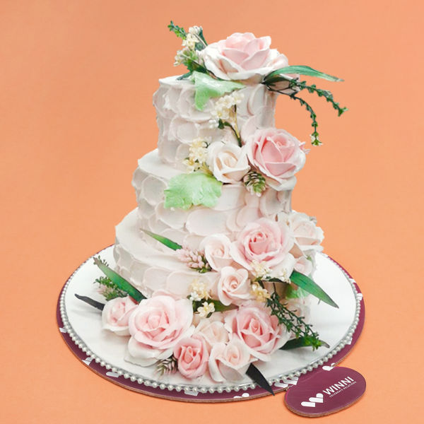 Buy Dreamy Creamy Wedding Cake