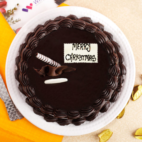 Buy Chocolicious Christmas Truffle Cake