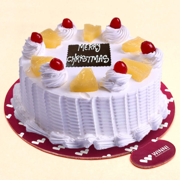 Buy Merry Christmas Pineapple Cake