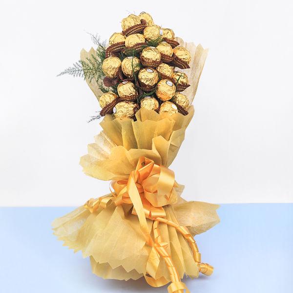 Buy Ferrero Rocher Chocolate Candy Bouquet