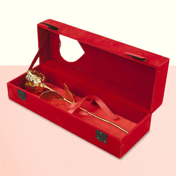 Buy Gold Rose with Box