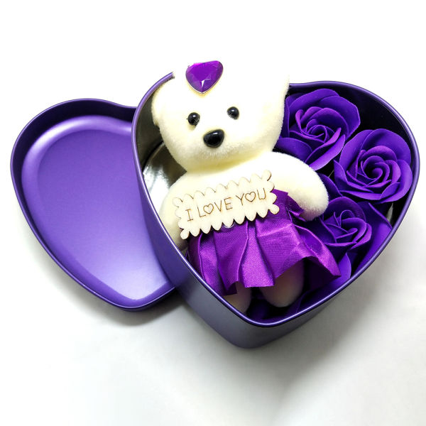 Buy Scented Paper Soap With Teddy
