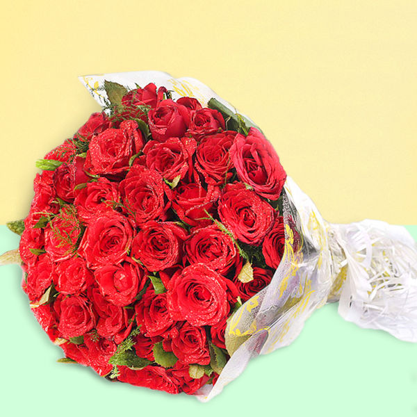 Buy Passionate Love  A bouquet of Red Roses