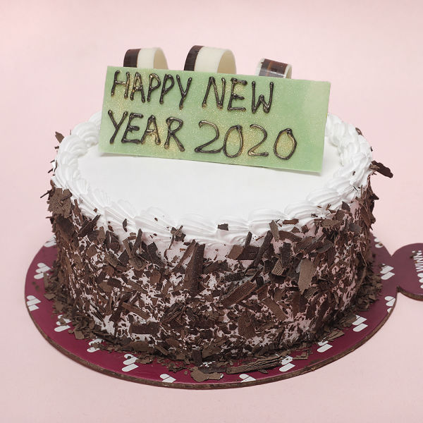 Buy New Year Black Forest Cake