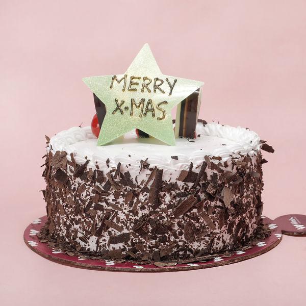 Buy Black Forest Xmas Cake