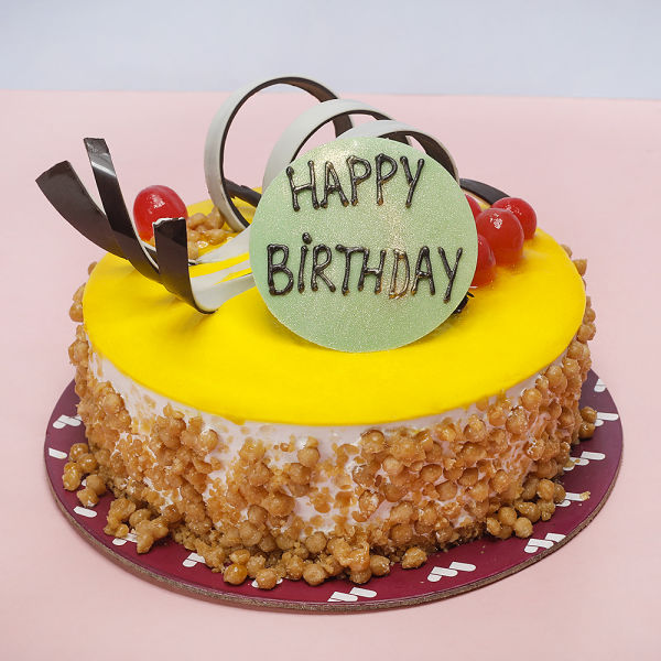 Buy Birthday Butterscotch Cake