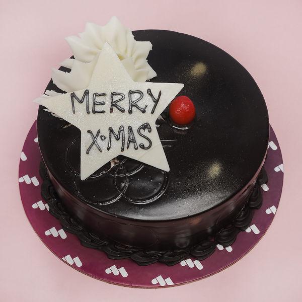Buy Chocolate XMAS Cake