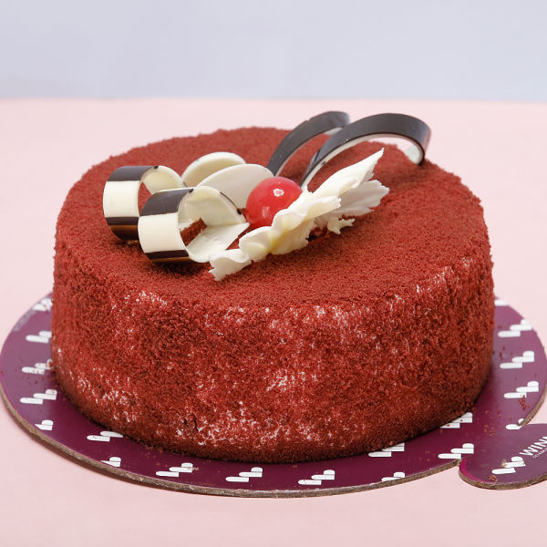 Buy Tempting Red Velvet Cake