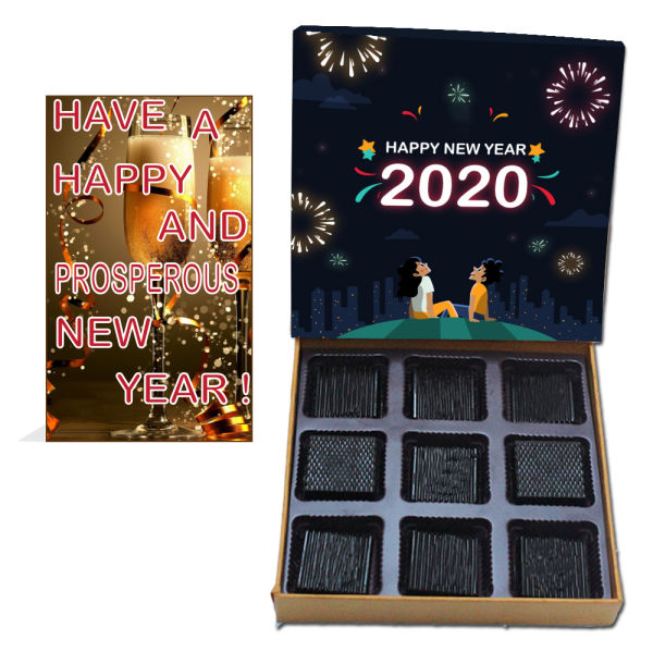 Buy Delicious New Year Chocolates