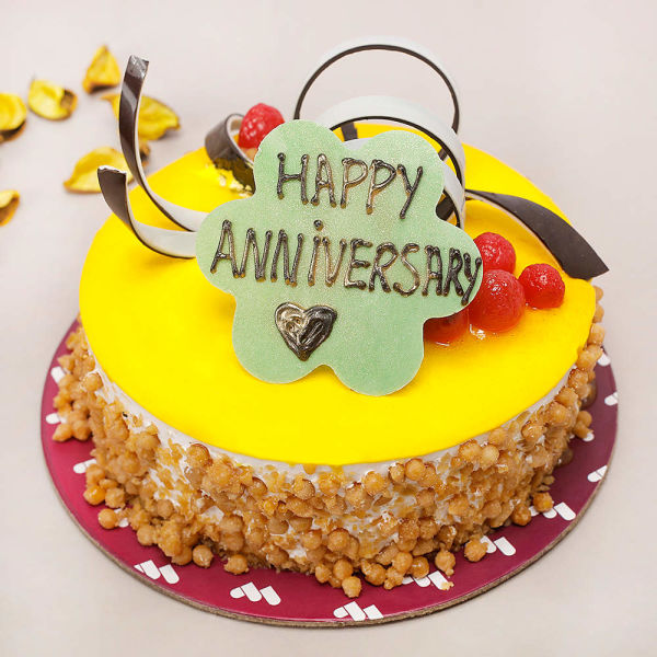 Buy Butterscotch Anniversary cake