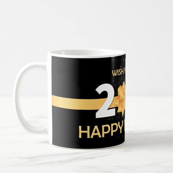 Buy Personalised New Year Greetings Mug
