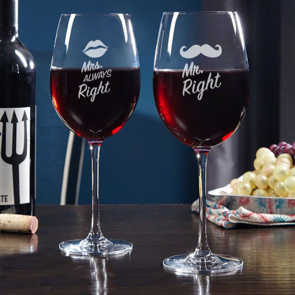 Buy Set Of Two Wine Glasses