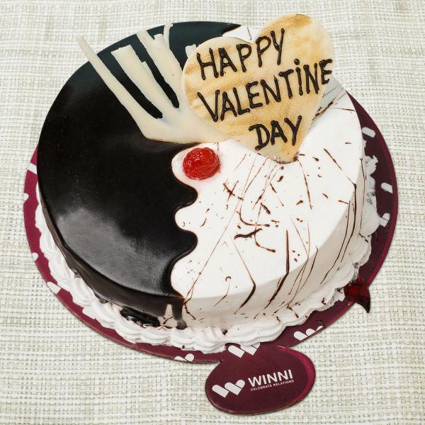 Buy Valentine Choco Vanilla Fusion Cake