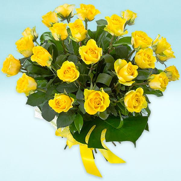 Buy Magic Yellow Roses Bunch