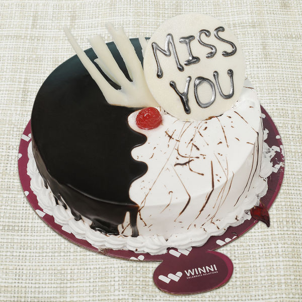Buy Miss You Choco Vanilla Fusion Cake