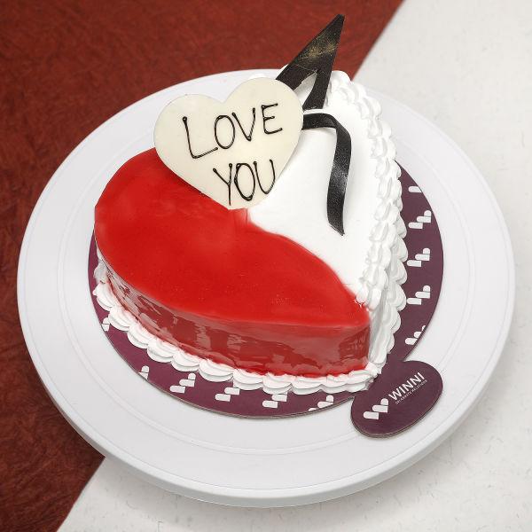 Buy Strawberry Vanilla Love You Cake