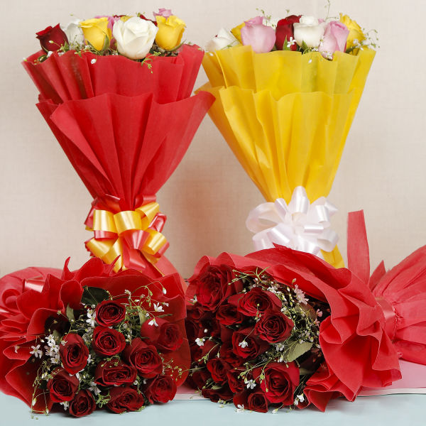 Enchanting Classic Roses: flower delivery