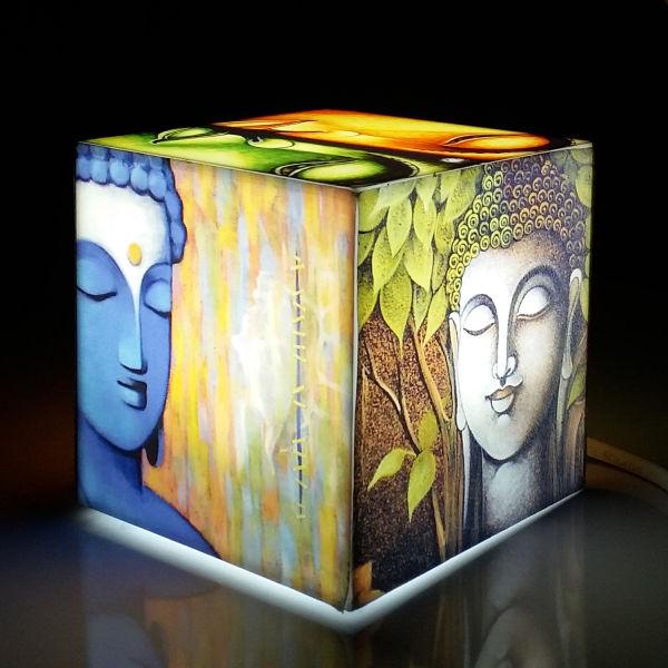 Buy Buddha Cube Mini Lamp
