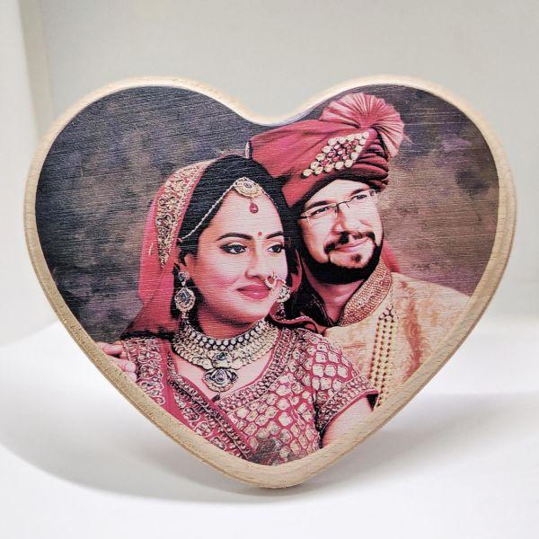 Buy Wooden Plaque Heart Shape Big