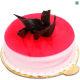 Buy Strawberry Eggless Cake