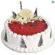 Buy Strawberry Fancy Eggless Cake