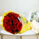 Buy Romantic Love Red Roses Bunch