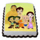 Buy Chota Bheem friends  photo cake