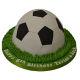 Buy Football shape Fondant cake