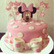 Buy Minnie mouse fondant cake