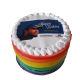 Buy Rainbow Photo Cake