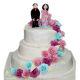 Buy Beautiful Rose 3 tier wedding cake