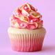 Buy 4 Luscious Colorful Cupcake