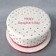 Buy Daughters Day Fondant Cake