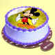 Buy Mickey Mouse Pineapple Photo Cake
