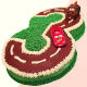 Buy Number Racing Track Shape Cake