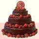 Buy Classy Choco Strawberry  cake