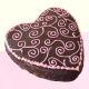 Buy Full of love heart shape chocolate cake