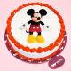 Buy Mickey Mouse Vanilla Photo Cake